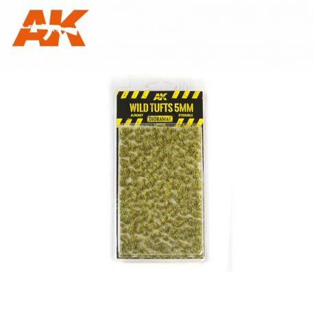 AK INTERACTIVE 8123- Ciuffi d'erba selvatici 5mm