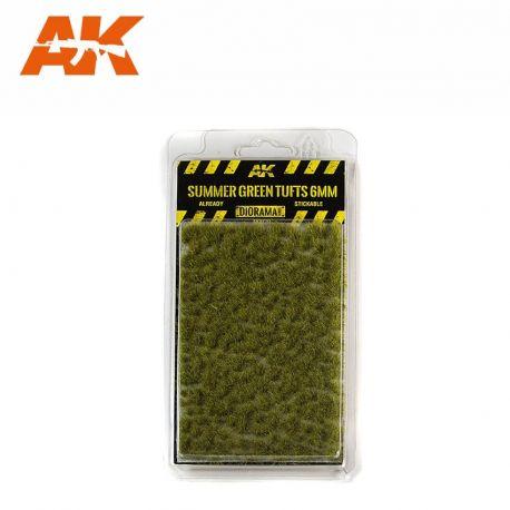 AK INTERACTIVE 8120- Ciuffi d'erba estiva 6mm