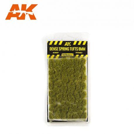 AK INTERACTIVE 8130- Ciuffi d'erba fitti primaverili 8mm