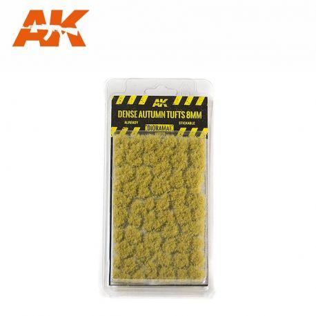 AK INTERACTIVE 8129- Ciuffi d'erba fitti autunnali 8mm
