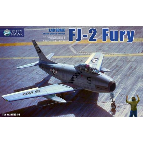 KITTY HAWK 80155 FJ-2 Fury 1/48