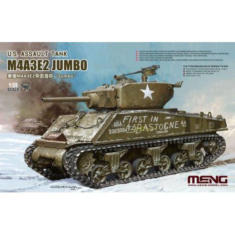 MENG MODEL TS045 M4A3E2 Jumbo 1/35