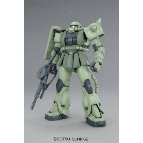 BANDAI MG MS06F ZAKU II VER 2.0 GUNDAM MASTER GRADE 0153144