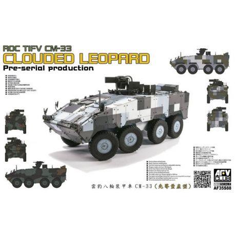 AFV CLUB AF35S88 ROC TIFV CM-33 CLOUDED LEOPARD Per-serial Production 1/35