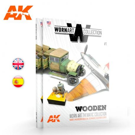 AK INTERACTIVE- WORN ART COLLECTION 01 – WOODEN