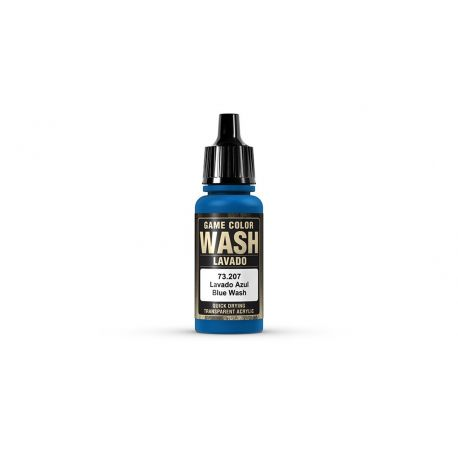 Vallejo 73207 Game Wash Blue wash- 17ml