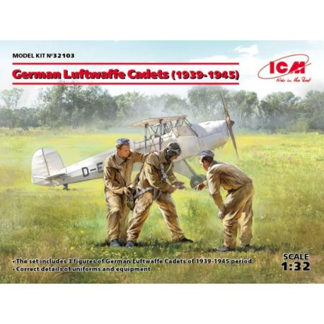 ICM 32103 German Luftwaffe Cadets (1939-1945)