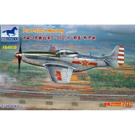 Bronco Models FB4010 PLA P-51D/K Mustang 1949 Parade 1/48