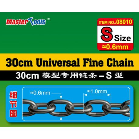 MASTER TOOLS 08010 Universal Fine Chain- S SIZE