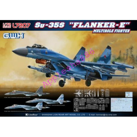 "Great Wall Hobby L7207 Su-35S ""Flanker-E"" 1/72"