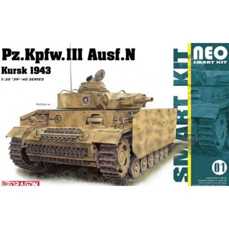 DRAGON 6559 Pz. Kpfw. III Ausf.N Kursk 1943 1/35