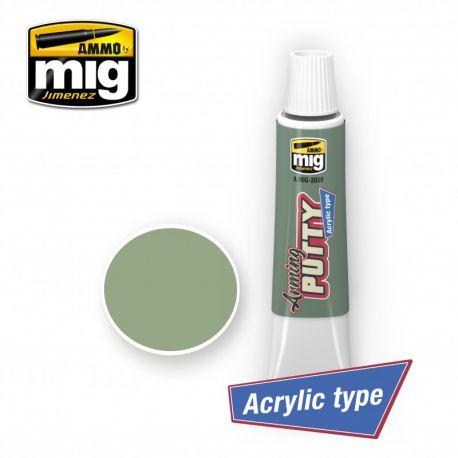 Ammo Of Mig- ARMING PUTTY ACRYLIC , 20ml
