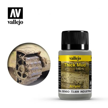 Industrial Thick Mud VALLEJO FANGO DENSO 73-809