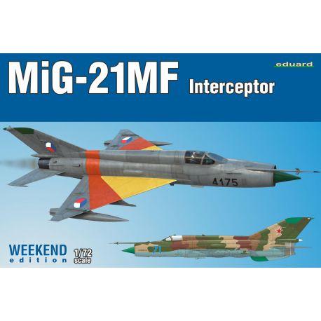 EDUARD 7453 Eduard 7453 MiG-21MF Interceptor Weekend Edition 1/72