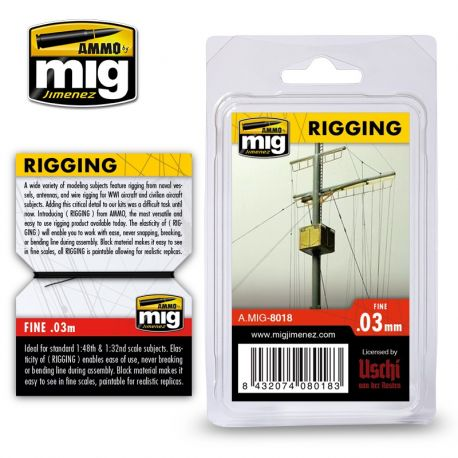 AMMO OF MIG 8018- RIGGING – SUPER FINE 0.3 MM