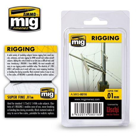 AMMO OF MIG 8016- RIGGING – SUPER FINE 0.01 MM