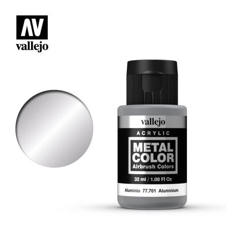 VALLEJO METAL COLOR 77701- ALUMINIUM