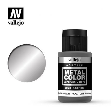 VALLEJO METAL COLOR 77703- DARK ALUMINIUM