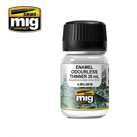 AMMO OF MIG 2018 ENAMEL ODOURLESS THINNER 35 ml