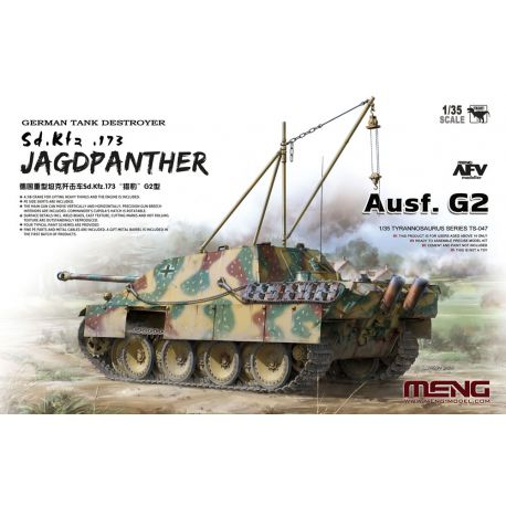 MENG MODEL TS047 German Tank Destroyer Sd.Kfz.173 Jagdpanther Ausf. G2 1/35