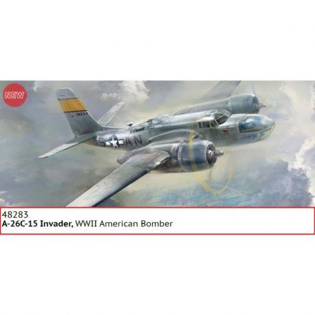 ICM 48283 Douglas A-26С-15 Invader WWII American Bomber 1/48