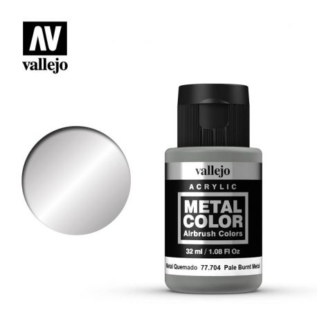 VALLEJO METAL COLOR 77704- PALE BURNT METAL
