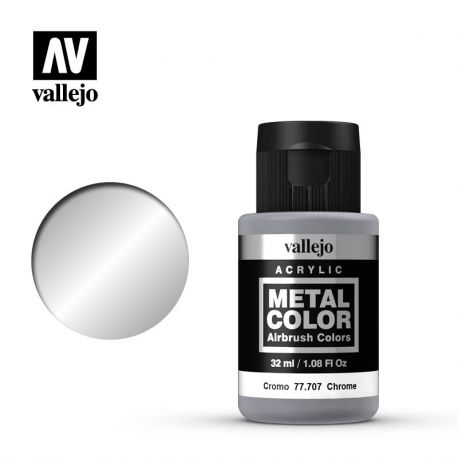 VALLEJO METAL COLOR 77707- CHROME