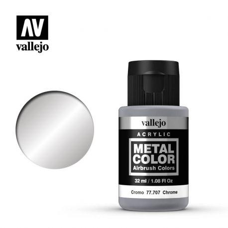 VALLEJO METAL COLOR 77707- CHROME
