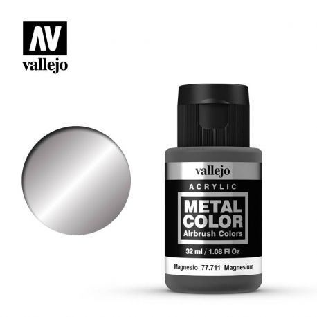 VALLEJO METAL COLOR 77711- MAGNESIUM