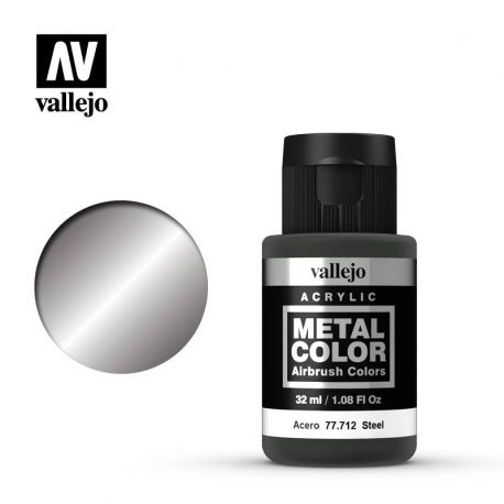 VALLEJO METAL COLOR 77712- STEEL