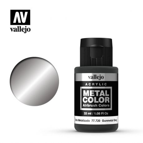 VALLEJO METAL COLOR 77720- GUNMETAL GREY