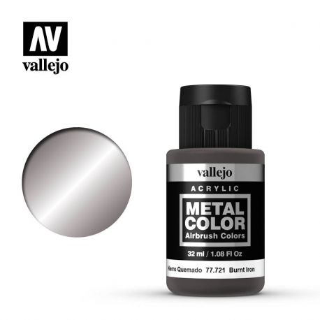VALLEJO METAL COLOR 77721- BURNT IRON