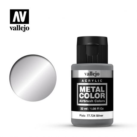 VALLEJO METAL COLOR 77724- SILVER