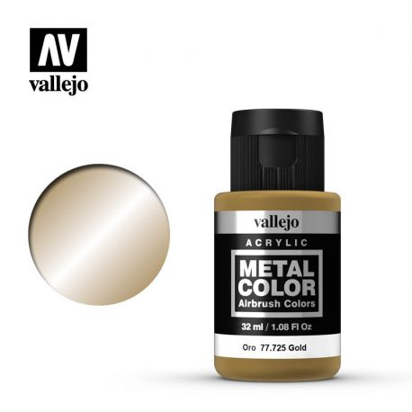 VALLEJO METAL COLOR 77725- GOLD