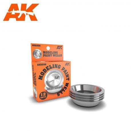 AK 8206,MODELING PAINT WELLS