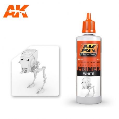 AK INTERACTIVE 177 White Primer 60ml