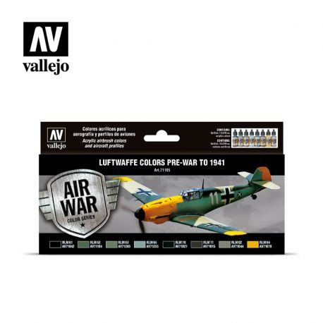 Vallejo 71165 Luftwaffe colors pre-war to 1941
