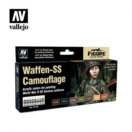 Vallejo 70180 Waffen-SS Camouflage