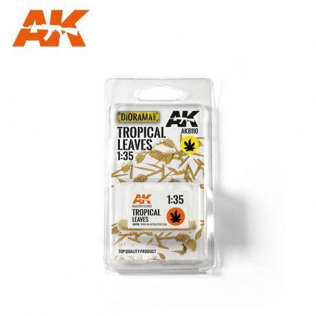 AK INTERACTIVE 8110- Foglie tropicali scala 1:35