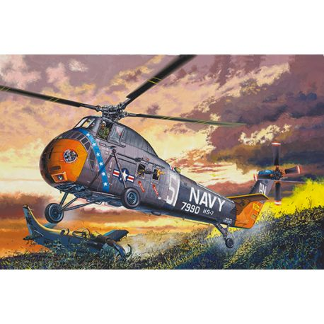 TRUMPETER 02882 H-34 US NAVY RESCUE 1/48