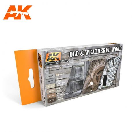 AK INTERACTIVE 563 OLD & WEATHERED WOOD VOL.2