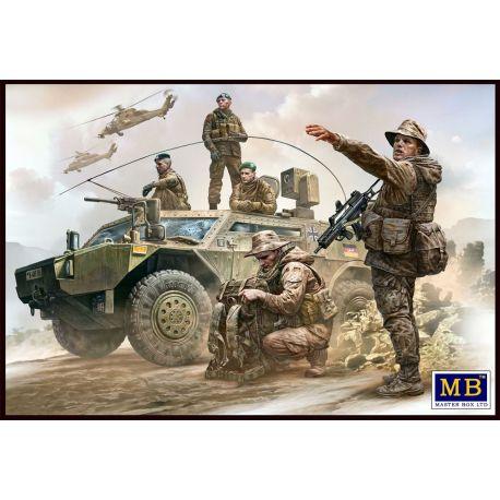 Master Box 35195 Bundeswehr German Military Men Present day