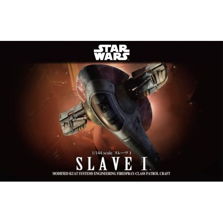 BANDAI 1/144 Star Wars SLAVE I Model Kit