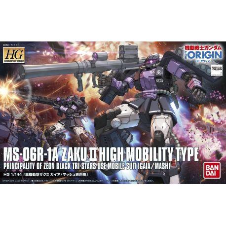 BANDAI 5057732 HG 003- ZAKU II MS-06R HIGH MOBILITY 1/144