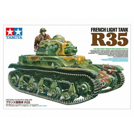 TAMIYA 35373 FRENCH LIGHT TANK R35