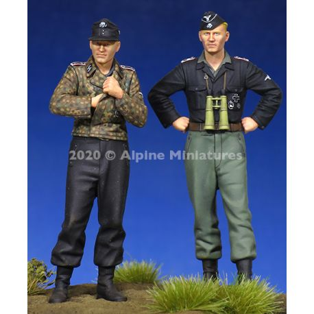Alpine Miniatures 35274 WSS Panzer Crew Set (2 figures)