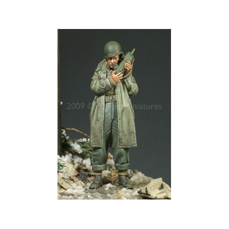 Alpine Miniatures 35094 WW2 US Army Officer 2