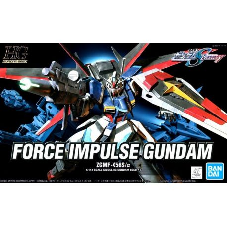 Bandai HGCE FORCE IMPULSE GUNDAM SEED 17 DESTINY 198 ZGMF-X56S/A 0206326