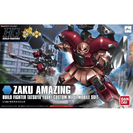 Bandai HG BUILD FIGHTERS 002 ZAKU AMAZING 5055431