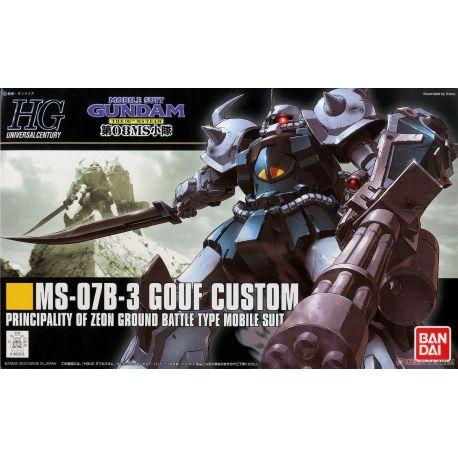 MS-07B-3 GOUF CUSTOM HGUC 117 BANDAI 55035 GUN82472